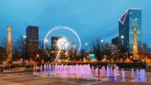 Centennial Olympic Park Atlanta, GA