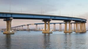Coronado Bay Bridge in San Diego Prestressed Concrete