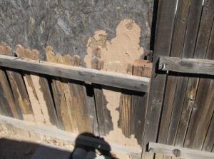 Permacast concrete fence vs wood fence