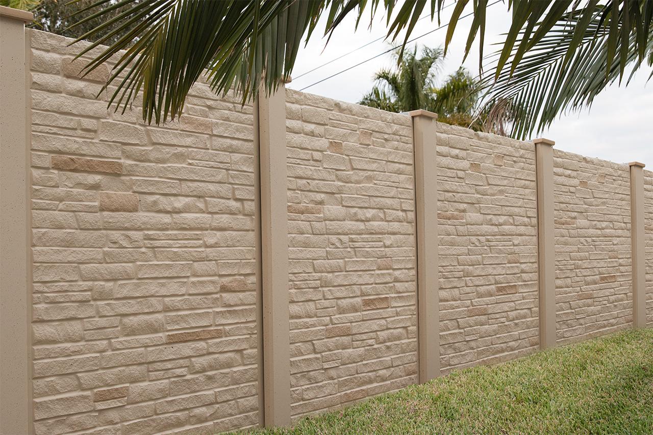 Orlando Precast Concrete Fence