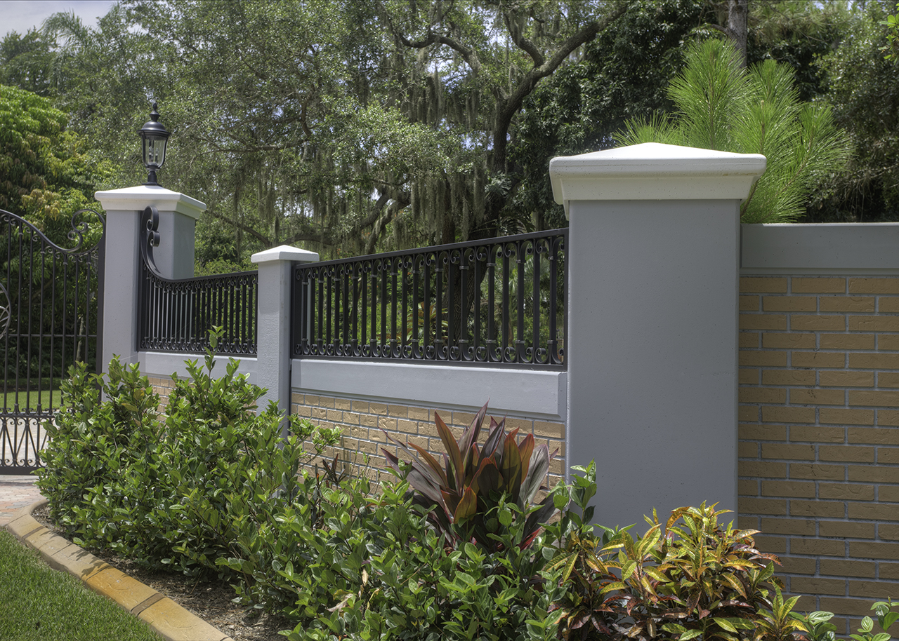 Precast Concrete Posts : Permafence archives permacast walls