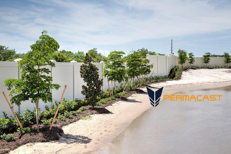 custom precast fence
