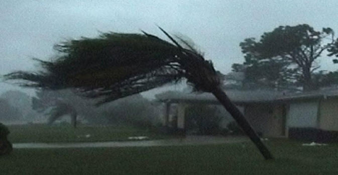 hurricane damage in florida