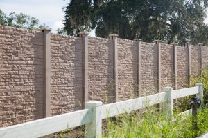 Permafence Precast Concrete Fencing by Permacast