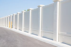 precast concrete fence pillars