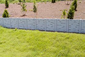 Permacast precast concrete fence - Permafence