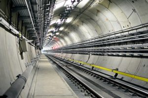 Precast concrete tunnel