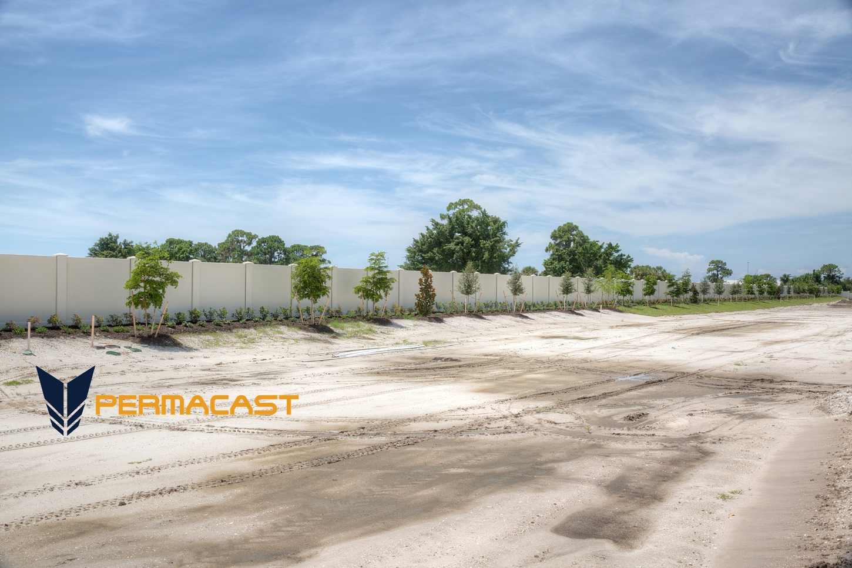 Precast concrete fencing in Orlando
