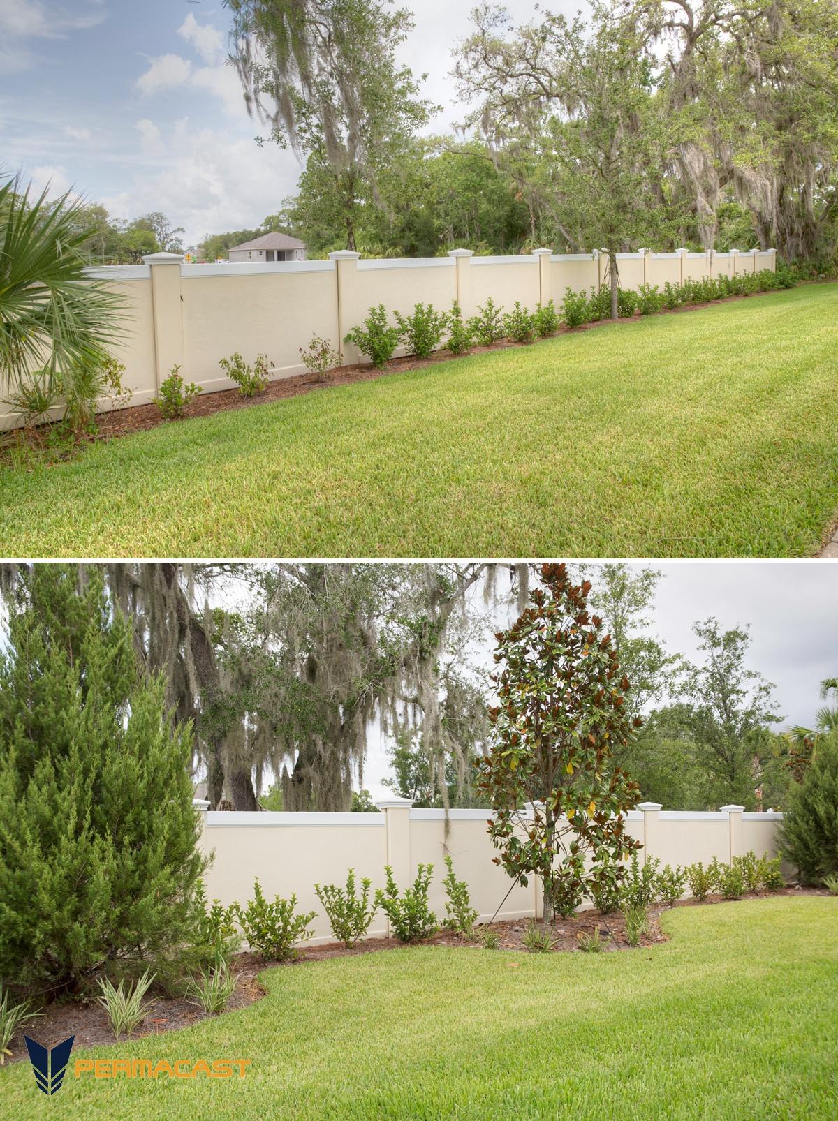 precast fence