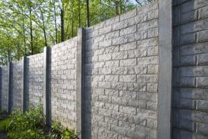 Gray brick concrete wall