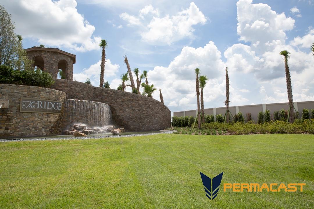 Orlando precast cement walls