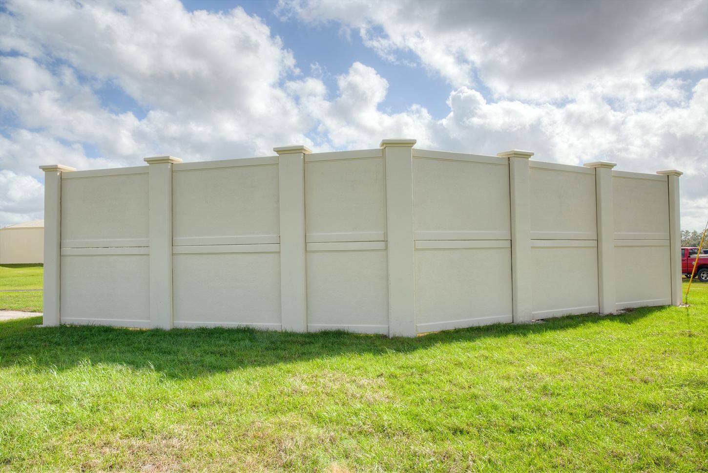 Concrete Security Walls : Precast concrete fence walls photos