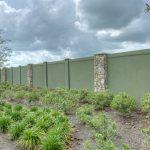 Permacast estimates the cost of a concrete fence - Precast concrete fencing