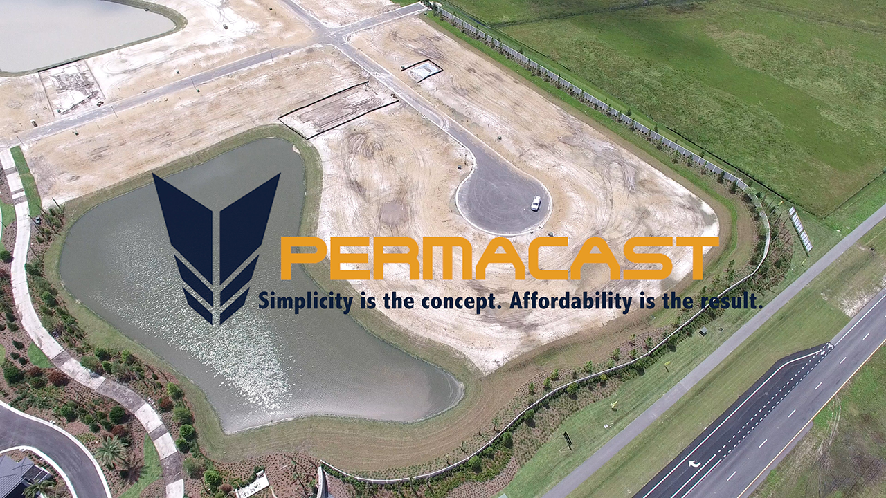 Tampa precast sound wall by Permacast